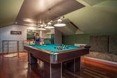 Travertine house - modern attic — Stockfoto
