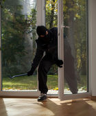 Burglary to home on the suburbs — Stock Photo