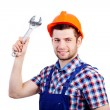 Professional repairman with wrench — Stock Photo #40642557