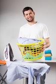 Wasserij te strijken — Stockfoto