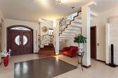 Elegantní dům - vstup — Stock fotografie