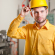 Engineer during work — Stock Photo
