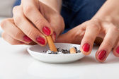 Ashtray — Stockfoto