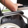 Handicapped man in work — Stock Photo