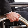 Independent diabled man — Stock Photo #41649109