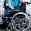 Handicapped driver — Stock Photo #41649151
