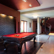 Billard in private interior — Stock Photo #41961869