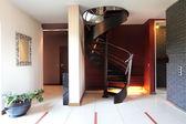 Modern merdiven — Stok fotoğraf