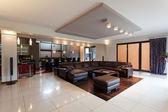 Spacious elegant penthouse — Stock Photo