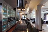 Galaxy kitchen interior — Stock Photo