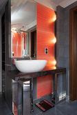 Bathroom sink — Stock Photo