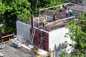 Rods construction — Stock Photo