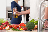 Healthy cooking — Stock Photo