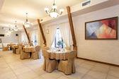 Tables in elegant restaurant — Stock Photo