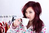 Morning coffee — Stock Photo