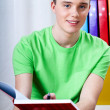 Young boy doing homework — Stock Photo #43008683