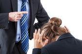 Punishment at work — Stock Photo