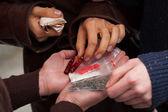 Handlarzy narkotyków twardych — Zdjęcie stockowe