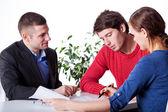 Mortgage advisory service — Stock Photo