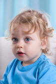 Cute little boy indoors — Stock Photo
