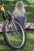 Picnic in summer — Stock Photo