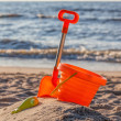 Beach toy set — Stock Photo