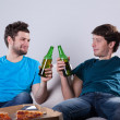 Friends drinking beer — Stock Photo #44561391
