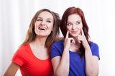 Vänner tillbringa tid tillsammans — Stockfoto