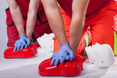 First aid course — Stock Photo