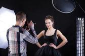 Photographe et modèle haut de gamme — Photo