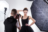 Fashion photography — Stock Photo
