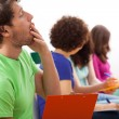 Yawning student during lecture — Stock Photo #45322509