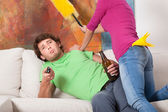 Chauvinist man — Stock Photo