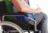 Student in wheelchair — Stock Photo