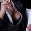 Sexy secretary — Stock Photo #46044089