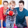 Parents playing with their son — Stock Photo #46127419