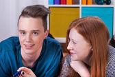 Jugendliche lernen — Stockfoto