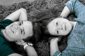 Teenager paar — Stockfoto