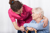 Nurse taking care — Stock fotografie