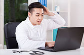 Asian doctor during work — Stockfoto