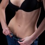 Постер, плакат: Woman unzips pants