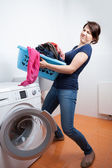Too much to launder — Stock Photo