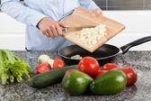 Chopped onion — Foto Stock