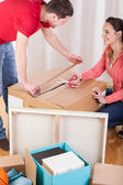 People moving house — Stock Photo