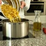 Preapring pasta — Stock Photo #49371827