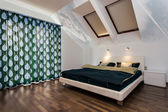 Modern bedroom at home — ストック写真