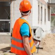 Builder worker at construction site — Stock Photo #50025653