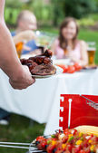 Summer barbecue time — Stock Photo