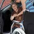 Woman helping her grandmother — Stock Photo #50584753