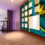 Entresol in modern flat — Stock Photo #50900863